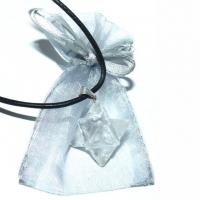 Merkaba Bergkristall Anhänger ca. 1,8 ..