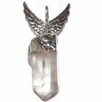 Engel-Kristall 4,5 - 5,5 cm Bergkristall