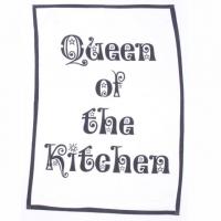 Küchentuch Queen mit Kelle