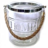 Home - Glas mit Henkel