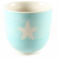 Sternentasse aus Keramik