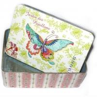 Jardin des Papillons Blechbox 18 x 12,..