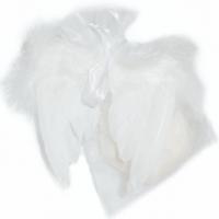 Edelweiss-Milchseife mit Engelflügel