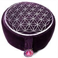 Meditationskissen - Yogakissen Blume des Lebens