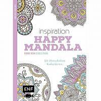 Happy Mandala Inspiration Malbuch für Erwachsene