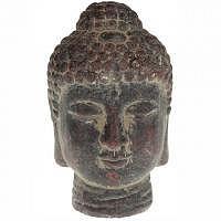 Buddha Kopf Terracotta ca.  12,5 cm hoch