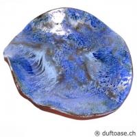 Schale Werkstätte blau meliert 13,5 cm