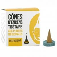 Beruhigend - Déstressant - Calming - Tibetische Räucherkegel