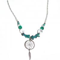 Indianerschmuck Halskette Türkis