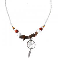 Indianerschmuck Halskette Tigerauge