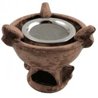 Räucherstövchen Avalon mit Sieb Ø 12 cm