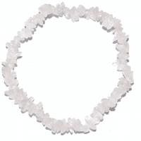 Rosenquarz - Splitter-Armband extra kleine Splitter 18 cm