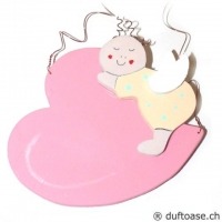 Engelbaby rosa-vanille