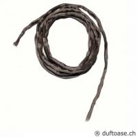 Seidenband schlammbraun ca. 100 cm lang