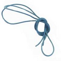 Lederband himmelblau 1,5 mm, 1 m lang