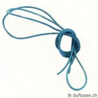 Lederband meerblau 1,5 mm, 1 m lang