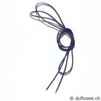 Lederband violett 1,5 mm, 0,8 m lang
