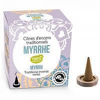 Myrrhe - indische Räucherkegel