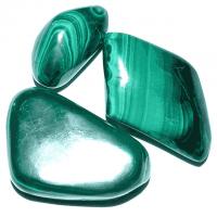 Malachit ca. 1,5 - 3,5 cm
