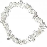 Bergkristall  Splitter-Armband 18 cm