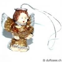 Engelchen mit Vogel 3 cm