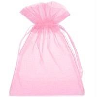 Organzabeutel pink