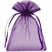 Organzabeutel violett M