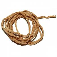Seidenband hellbraun ca. 100 cm