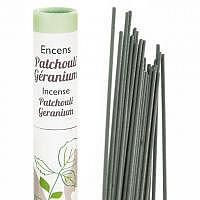 Patchouli-Geranium Duftstäbchen