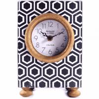Vintage Uhr schwarz