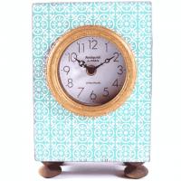 Vintage Uhr türkisfarben