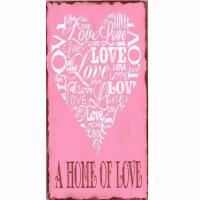 Magnet-Schild A HOME OF LOVE