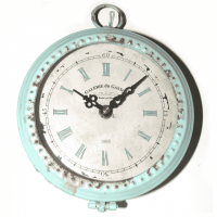 Vintage Wand-Uhr