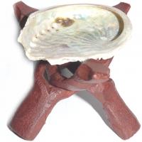 Abalone mit Halter