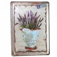 Lavender Blechschild 15 x 21