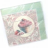 Servietten Vintage Cupcakes