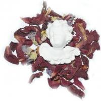 Himmelsblüten-Engel ca. 8 x 7,5 cm