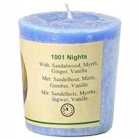 1001 Nacht Duftkerze Sandelholz, Myrrhe, Ingwer, Vanille