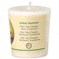 Indian Summer Duftkerze Nag Champa, Basilikum, Kardamom