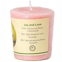 Duftkerze Joy & Love Marokkanische Rose, Kamille