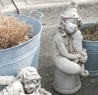 Elfe Jenny Gartenfigur Fiona Jane Scott