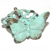 Möbelknopf Schmetterling