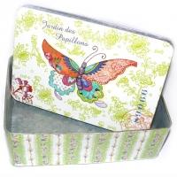 Jardin des Papillons Blechbox 21 x 14,5 x 7,3 cm