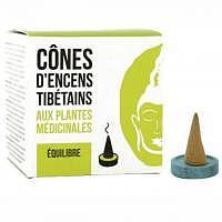 """""""Deckel kleiner Riss"""" - Gleichgewicht - Tibetische Räucherkegel"""