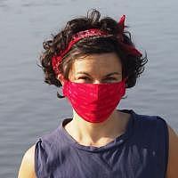 Maske rot - Mund/Nase  WAVES CHILI