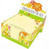 Zettelbox Sonnenschein für Dich - 300 Notizzettel