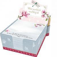 Zettelbox Was wirklich wichtig ist - 300 Notizzettel