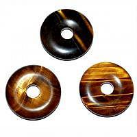 Tigerauge Pischeibe - Donut 3 cm