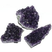 Amethyst Kristalldrusenstück 7-10x2,5-4,5x3-5h cm