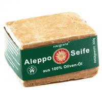 """Olivenölseife aus Aleppo 100% Olivenöl """"grüne Etikette"""""""